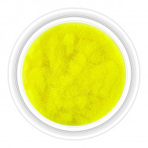 Catifea Unghii Decorativa Culoare Galben Florescent, Cod C-V02