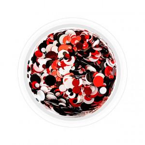 Confetti Unghii Multicolore Cod CU-RAN, Accesorii Nail Art