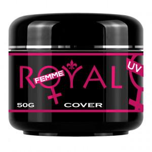 Gel UV Cover Royal Femme, Camuflaj Constructie, 50 ml