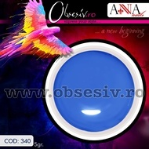 Geluri Colorate Anna Nails 340 - Gel Color UV Unghii