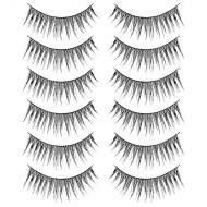 Gene False Banda Fashion Lashes Set 6 Perechi No F32