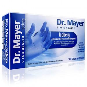 Manusi Examinare Nitril Nepudrate Iceberg Dr Mayer 100 Buc