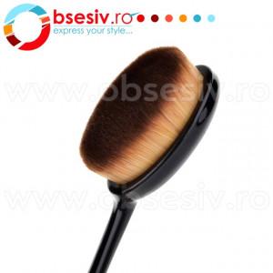 Pensula Ovala Fond De Ten Nr 3/4, Pensule Ovale MakeUp