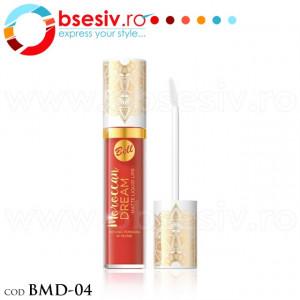 Ruj Lichid Mat Pentru Buze, Cod BMD-04, Producator Bell, Gama Moroccan Dream Matte Liquid Lips, Rujuri Profesionale Make-Up