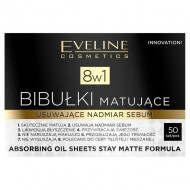 Servetele Absorbante Matifiante 8 in 1, Eveline Cosmetics