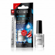 Tratament si Top Coat Luciu Eveline Cosmetics X-TREM Gel Effect
