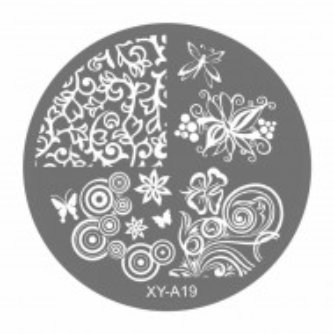Matrite Stampile Unghii, Cod XY-A19, Accesorii Profesionale Manichiura