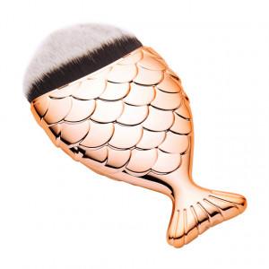 Pensula MakeUp Sirena, Pensula Fond De Ten Mermaid