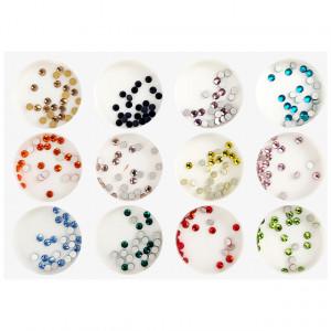 Decoratiuni Unghii Pietricele Multicolore Diametru Ø 2mm, Accesorii Nail Art