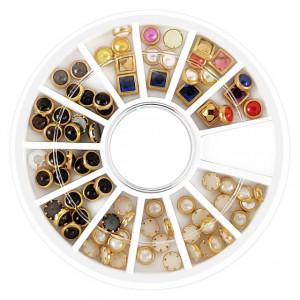 Decoratiuni Unghii Tip Tinte Culori si Forme Diferite No J211