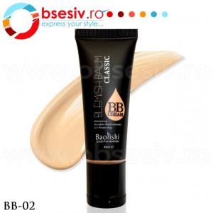 Fond De Ten Lichid, BB Cream, Cod BB-02, Gramaj 45ml, Brand Baolishi, Blemishbalm Classic