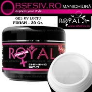 Gel UV Shining Royal Femme, Finish Luciu, 30 ml