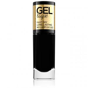 Lac Unghii Negru Gel Laque No 57 Eveline Cosmetics