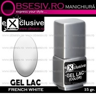 Oja Semipermanenta WHITE FRENCH - Geluri Lac Exclusive Nails