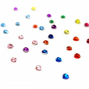 Pietricele Marunte Multicolore Diametru Ø 1mm, Decoruri Unghii de Tip Nail Art