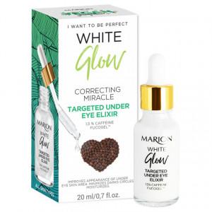 Ser Elixir Cearcane si Pielea Ochilor cu 1,5% Cofeina si Fucogel™, Targeted Under Eye Elixir White Glow Marion
