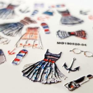 Stickere Unghii 5D, Model Fashion, MG190520-04