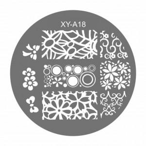 Matrite Stampile Unghii, Cod XY-A18, Accesorii Profesionale Manichiura
