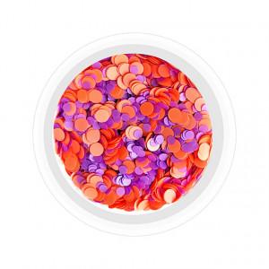 Confetti Unghii Multicolore Cod CU-PM, Accesorii Nail Art