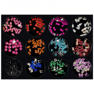 Decoratiuni Unghii Pietricele Forme Culori si Marimi Diferite, Accesorii Nail Art