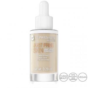 Fond de Ten Anticearcan Lichid Hipoalergenic Just Free Skin, 01 Ivory Bell Cosmetics