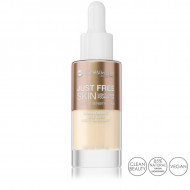 Fond de Ten Lichid Iluminant si Hipoalergenic Just Free Skin, 01 Light
