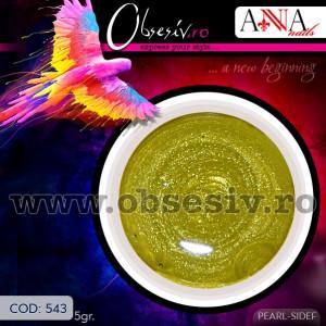 Geluri Colorate Anna Nails 543 - Gel Color UV Unghii