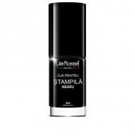 Lac Special Stampile Unghii Negru, Lila Rossa, 6ml