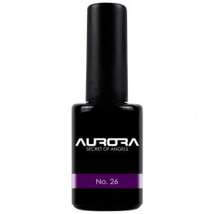 Oja Semipermanenta Aurora Secret, Color No 26, 11 ml