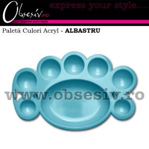 Paleta Culori Acryl - ALBASTRU