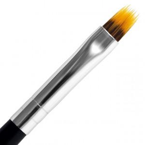 Pensula Ombre Gel cu Capac Metalic, No 6, Lila Rossa
