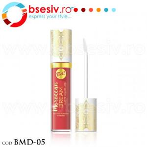 Ruj Lichid Mat Pentru Buze, Cod BMD-05, Producator Bell, Gama Moroccan Dream Matte Liquid Lips, Rujuri Profesionale Make-Up