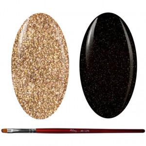 Kit Geluri Color + Pensula Gel Unghii, Cod K2GP-60G/54G