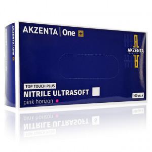 Manusi Examinare din Nitril Ultrasoft Akzenta TopTouch Plus Pink Horizon 100 Buc