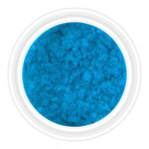 Catifea Unghii Decorativa Culoare Albastru Ceruleum, Cod C-V05