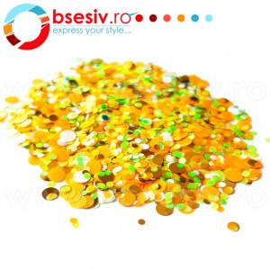 Confetti Unghii Multicolore Cod CU-13, Accesorii Nail Art