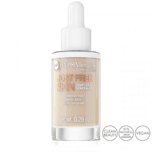 Fond de Ten Anticearcan Lichid Hipoalergenic Just Free Skin, 02 Fresh Bell Cosmetics