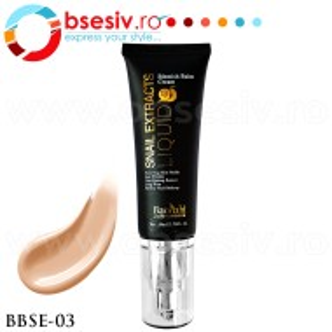 Fond De Ten Crema Cu Extract de Melc, Cod BBSE-03, Gramaj 50ml, Brand Baolishi, Blemish Balm Cream Snail Extract