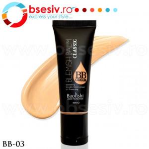 Fond De Ten Lichid, BB Cream, Cod BB-03, Gramaj 45ml, Brand Baolishi, Blemishbalm Classic