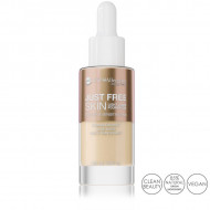 Fond de Ten Lichid Iluminant si Hipoalergenic Just Free Skin, 02 Natural
