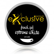 Gel UV/LED French Gel Extreme White Exclusive Premium 15 ml