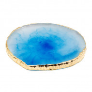 Paleta Suport Adeziv si Mixare Culori, Agata Cristal Blue