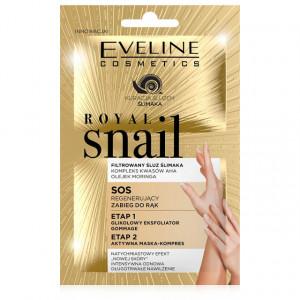 Tratament Crema Terapie de Regenerare Maini, Royal Snail Eveline Cosmetics