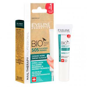 Tratament Unghii si Cuticule BIO SOS Unghii Sanatoase Eveline Cosmetics 12ml