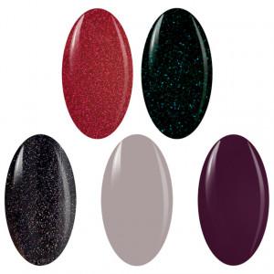 Kit Geluri Color Exclusive Premium Line, 5 Culori la Alegere