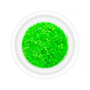 Paiete Unghii Neon Cod PN-V, Culoare Verde