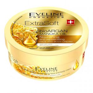 Crema Fata si Corp Eveline Cosmetics Extra Soft Bio Argan Manuka Oil