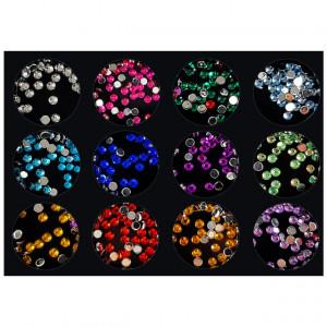 Decoratiuni Unghii Pietricele Multicolore Diametru Ø 2-3mm, No B01