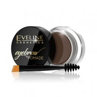 Fard Sprancene Eveline Cosmetics Eyebrow Pomade, Soft Brown