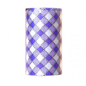 Folie Decorativa Transfer Manichiura, Rhombus Lavander